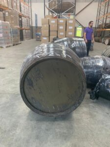 Lee and the ginormous 600l cask